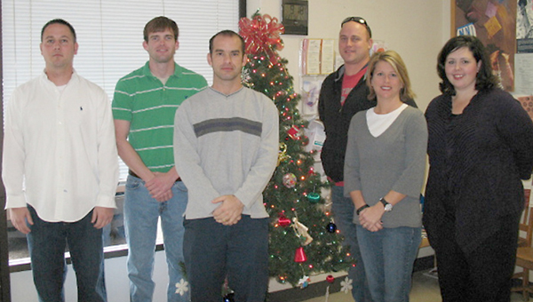Greenville firefighters helped out the Department of Human Resources this Christmas.