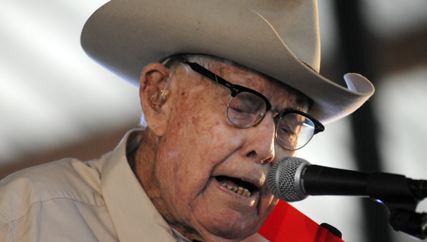 Braxton Schuffert, one of the original members of country music legend Hank Williams Sr.'s band, died Friday night following an extended illness. Schuffert was 97. (File Photo)