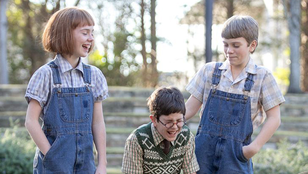 """Fort Dale Academy student Abbie Salter, left, is starring as Scout in the Alabama Shakespeare Festival's production of """"To Kill A Mockingbird."""" (Courtesy Photo)"""
