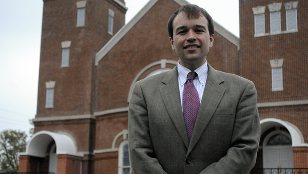 David Saliba is the new pastor at First United Methodist Church in Greenville. Saliba most recently served as the executive minister at First United Methodist Church in Montgomery. (Advocate Staff/Jonathan Bryant)