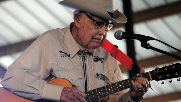 Braxton Schuffert  performs at the 33rd annual Hank Williams Festival. A $5,000 grant awarded to the Hank Williams Boyhood Home and Museum will be used to help fund this year's festival. (File Photo)