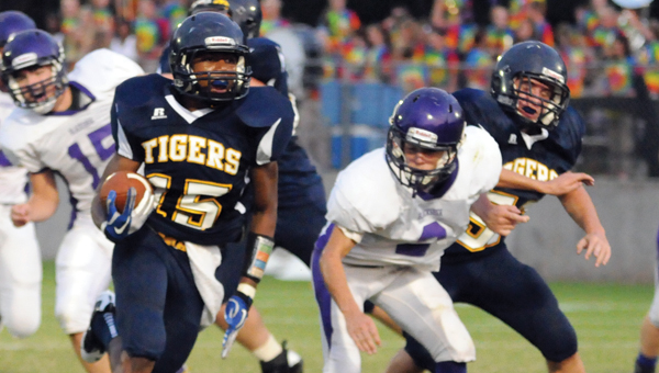 McKenzie School junior Nicarius Peterson has received scholarship offers from the University of South Alabama and the University of Southern Mississippi. (File Photo)