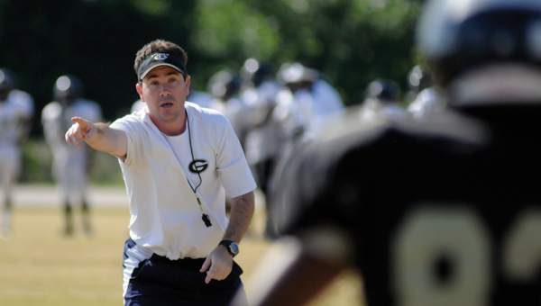 Greenville High School head coach Josh McLendon has has been keeping a close eye on the Tiger Stadium renovations. (File photo)