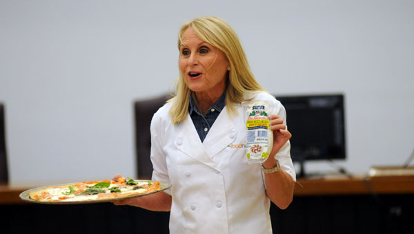 """Liz Edmunds, star of BYU Television's """"The Food Nanny,"""" presented a workshop Saturday at the Butler County Board of Education. The workshop was sponsored by Healthy Kids. (Advocate Staff/Andy Brown)"""