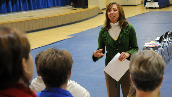 Butler County Schools Superintendent Amy Bryan held  a series of public meetings to get feedback from community members to assist in crafting a new strategic plan for the school system. (File Photo)