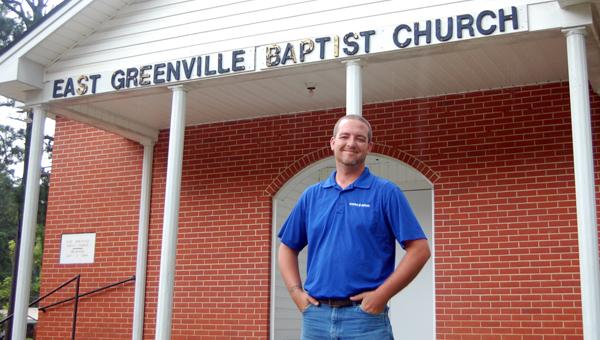 Dustin Harris has been named interim pastor at East Greenville Baptist Church, located on Second Street. Harris is a native of Georgiana. (Advocate Staff/Morgan Burkett)