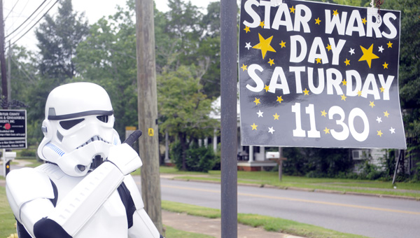 The Greenville-Butler County Public Library will hold its third annual Star Wars Day Saturday at 11:30 a.m. (File Photo)