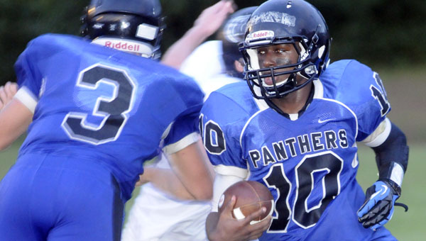 Quarterback-turned-receiver Jacquez Payton looks to duplicate last year's success against the Prattville Christian Panthers.
