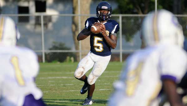 McKenzie School senior quarterback Terrance Clemons has been an important element of the team's success, finishing last week with 185 yards passing with three touchdowns and 56 yards rushing with three touchdowns in the Tigers' 42-9 win over Pleasant Home.