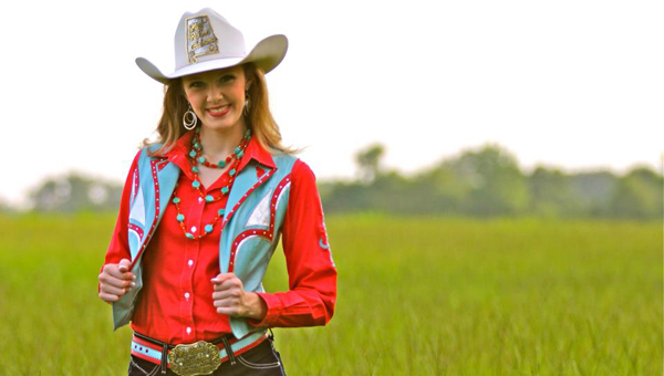 Chelsea Maness was crowned Miss Rodeo Alabama on June 26 in San Antonio, Texas. (Courtesy Photo)