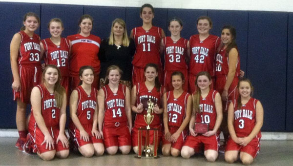 The Fort Dale Academy junior varsity girls basketball team walked away from a weekend tournament in Auburn with a second-place finish.