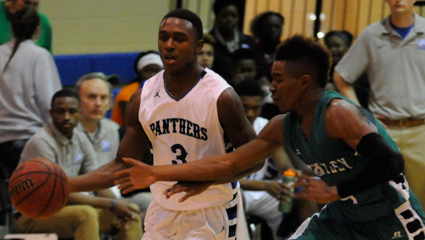 Georgiana's Jacquez Payton and Brantley's DaRian Jones both easily qualified for the highlight reel in Monday night's matchup.