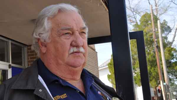 Charles West retired as sheriff last Friday. JOURNAL PHOTO | MONA MOORE
