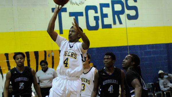 Chris Shufford led the McKenzie Tigers in scoring with 16 points.