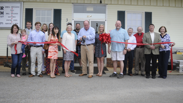 The Greenville Area Chamber of Commerce held a ribbon cutting ceremony for Butler South Liquidation Outlet on Thursday.  (Advocate Staff/Jonathan Bryant)