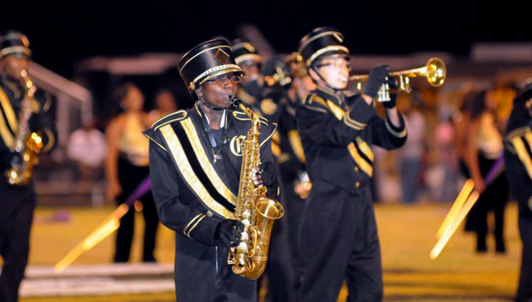 The Greenville High School Tiger Pride Marching Band will perform Aug. 29 at Riverwalk Stadium as part of the Montgomery Biscuits' Grand Slam School Day.  (File Photo)