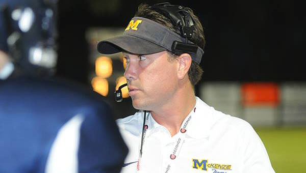 Former McKenzie head football coach Josh McLendon led the Tigers to two back-to-back second-round playoff appearances.