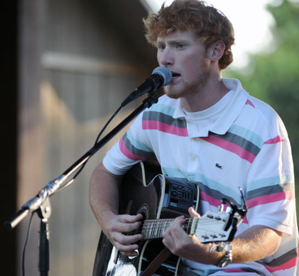 Caleb Luckie will perform with Cailyn Thompson June 4 at 5:30 p.m. at the Greenville-Butler County Public Library's Camellia Pavilion as part of the Spring Concert Series.  (File Photo)