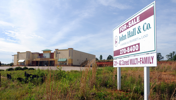 The Greenville City Council voted unanimously Tuesday to rezone a portion of property along Paul Stabler Drive from commercial to multi-family residential in hopes of attracting a developer to build apartments in the Greenville Commons shopping center. (Advocate Staff/Andy Brown)