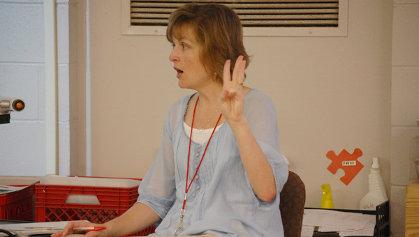 Greenville Middle School teacher Kathy Pickens is a finalist for WAKA's Golden Apple Teacher of the Year. (File Photo)