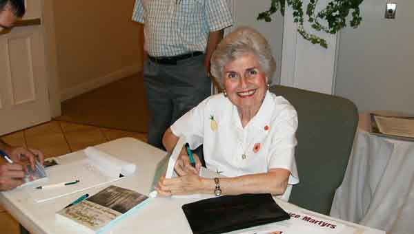 CONTRIBUTED PHOTO Nancy Petrey will hold a book signing Wednesday, May 20, at South Luverne Baptist Church.
