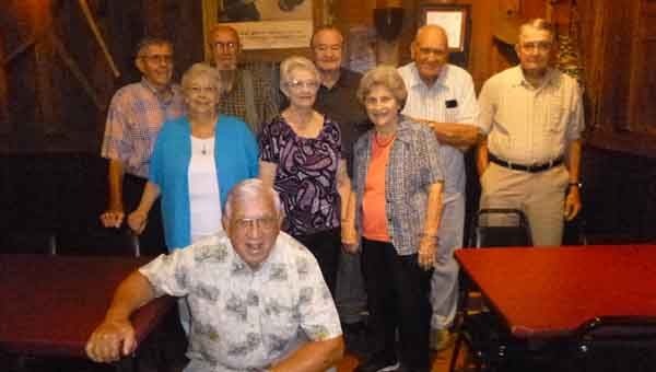 CONTRIBUTED PHOTO   MALCOM PULLEN Luverne High School's Class of 1949 recently reunited at The Old Barn in Goshen for the 66th annual reunion.