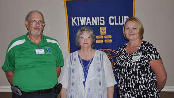 From left, Wayne and Sue Blackmon and Karen Hutto encourage everyone to become organ donors.