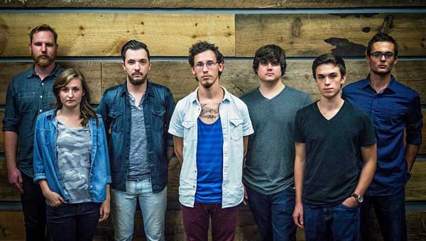 CONTRIBUTED PHOTO Dothan band Of The Tides will lead worship at Sunday night's event at South Luverne Baptist Church. The indoor event starts at 5 p.m.