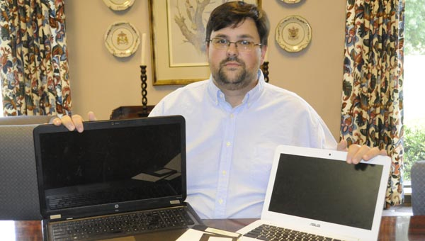 Greenville native Jeremy Coleman is offering free computer classes to students in 6th-12th grades. (Advocate Staff/Jonathan Bryant)