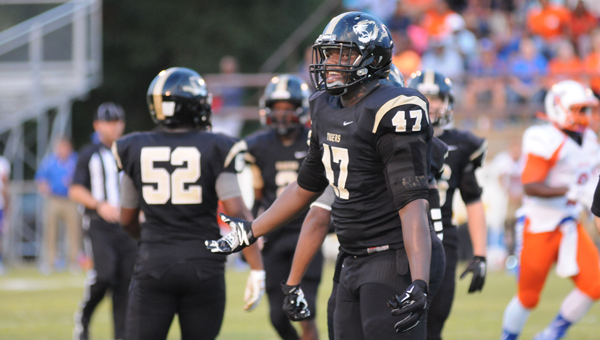 Greenville High School senior Marlon Davidson will announce his college choice Friday at 11:30 a.m. in the GHS Auditorium. (Advocate Staff/Andy Brown)