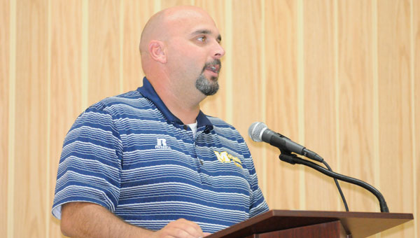 Tony Norris, first-year head coach of the McKenzie Tigers, outlined his expectations for the coming season of McKenzie football.