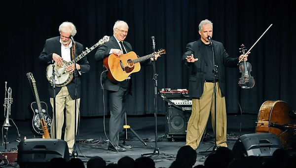 Three on a String will take the Ritz Theatre stage Nov. 17 as part of the Greenville Area Arts Council's 34th season. (Photo courtesy of Three on a String)