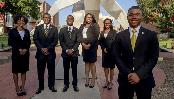 Jeremy Crum, a 2011 graduate of Keith High School and a senior at ASU, was elected SGA president at Alabama State in April and took office in May.  (Courtesy Photo)