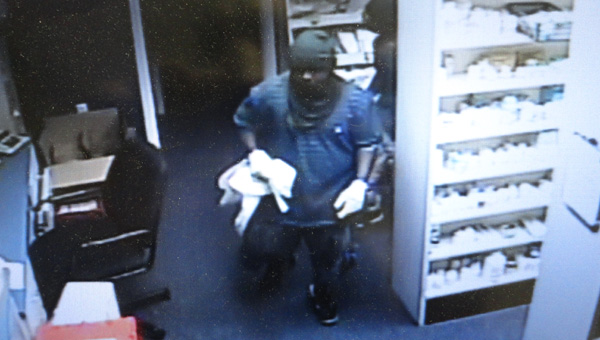 The Greenville Police department is searching for four suspects that broke into the Medicine Shoppe on Monday night. (Photo courtesy of the GPD)