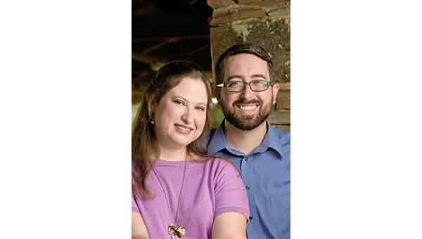 CONTRIBUTED PHOTO Haley Lorraine Odom and James Michael Rodgers will wed Oct. 11.