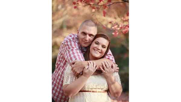 CONTRIBUTED PHOTO Nicholas Todd Atkinson and Lauren Ashley Wilson will wed Oct. 3.