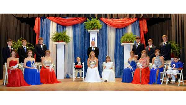 CCA Homecoming Court 2015 CONTRIBUTED | MERICA TISDALE
