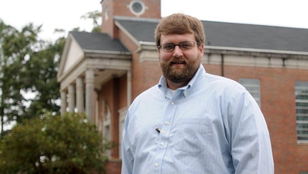Chase Clower is the new senior pastor at First Baptist Church in Greenville. The Troy native previously served as senior pastor at Henderson Baptist Church in Goshen and as associate pastor at First Baptist Church in Brewton. (Advocate Staff/Andy Brown)