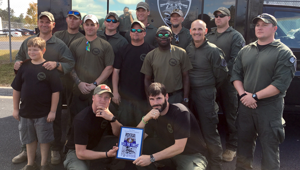 The Greenville Police Department's Special Response Team claimed second place at the  Alabama Tactical Officers Association Tactical Tournament. It marks the third year in a row the team has finished in the Top 3. (Courtesy Photo)