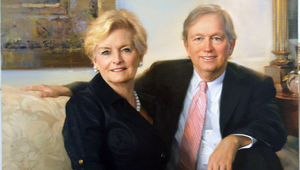 Warren and Sallie Williamson along with 15 other inductees became charter members of the Bryant Society.  This is the pinnacle of the lifetime giving society at the University of Alabama distinguishing individuals and organizations who have made contributions of at least $1 million. (Courtesy of the University of Alabama)