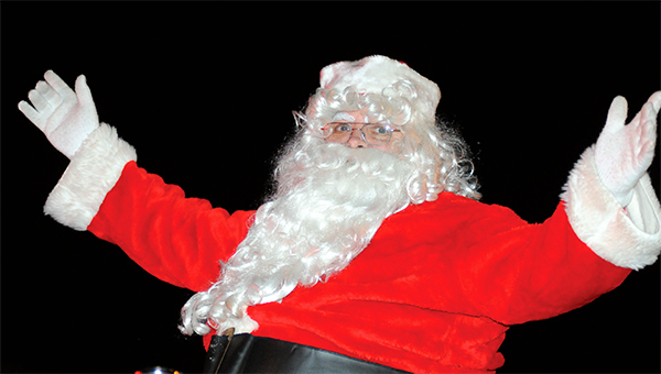 Jolly ol' St. Nick will make an early visit to the Camellia City on Dec. 3 for the City of Greenville's annual Christmas Parade. (File Photo)