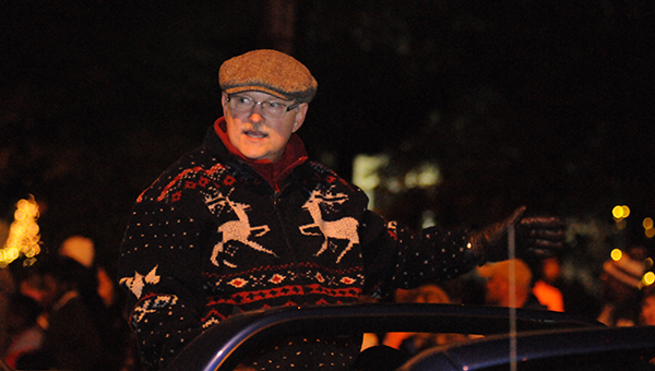 Longtime Butler County Circuit Clerk Allen Stephenson served as the grand marshal for Thursday night's parade.  Stephenson is president of the Butler County Ministerial Association and president of the board of directors for L.V. Stabler Memorial Hospital. He also serves on the board of directors for the Kiwanis Club and the YMCA. (Advocate Staff/Andy Brown)