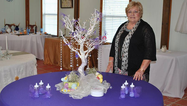 "Cheryl Nelson has always had a passion for decorating, and after retiring, she was finally able to turn that passion into a career. Nelson recently began her own business called, ""Cheryl's Creative Events Designs,"" and has the means to decorate for many different receptions, parties and weddings."