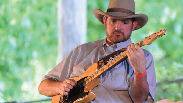 Brad Magness is one of many performers that reguarly attends the Hank Williams, Sr. Festival in Georgiana. The festival was ranked by Only In Your State as one of the top festivals in Alabama. (File Photo)