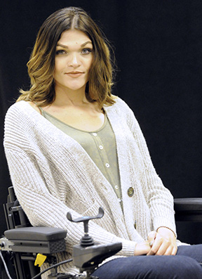 McKenzie native Chelsea Rae Huggins will serve as the keynote speaker at the Healthy Woman Anniversary dinner on March 5. (Advocate Staff/April Gregory)