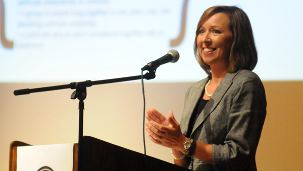 Butler County Schools Superintendent Amy Bryan was recently named to the National School Public Relations Association's 2015-2016 Superintendents to Watch list. (File photo)