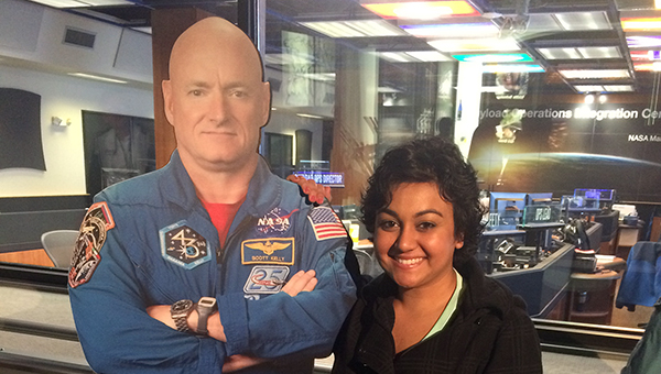 Nikki Patel, a first-year teacher at Greenville High School, was among teachers from across the state to take part in the NASA Science Institute at the Marshall Space Flight Center in Huntsville. (Courtesy Photo)