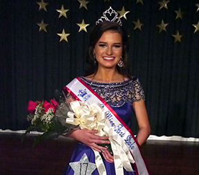 Dailyn Swann was crowned Junior Miss Fort Dale Academy Saturday night at the historic Ritz Theatre in downtown Greenville. (Advocate Staff/Angie Long)