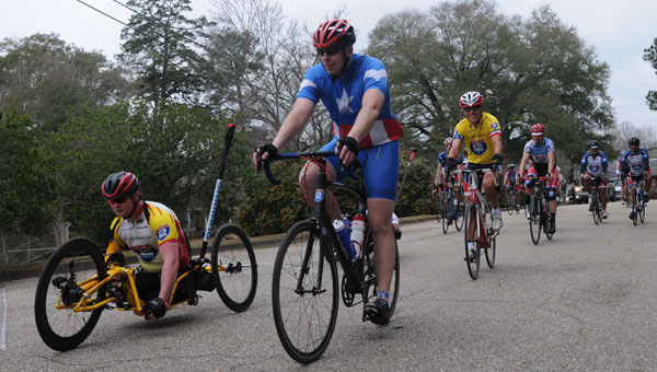 Nearly 200 veterans taking part in the Ride 2 Recovery Gulf Coast Challenge are expected to make a stop in Greenville on Wednesday. (File Photo)