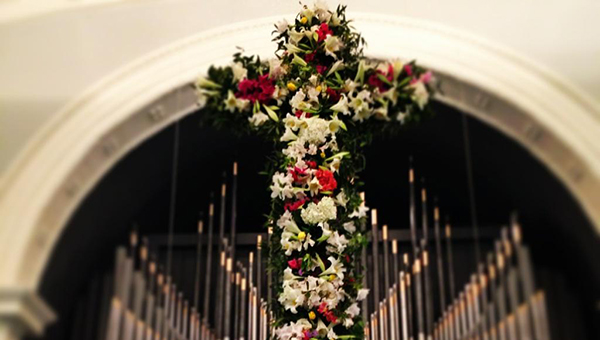 """First United Methodist Church will hold a """"Raising of the Cross"""" service Sunday beginning at 9:30 a.m. (Courtesy photo)"""